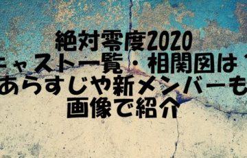 絶対零度 2020 キャスト