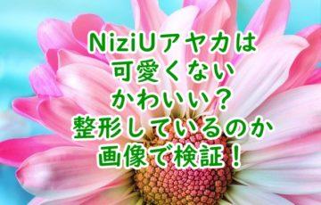 NiziUアヤカ 可愛くないかわいい