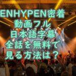 ENHYPEN&Hi動画フル日本語字幕全話 無料 視聴方法