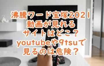 沸騰ワード宝塚2021 動画 無料