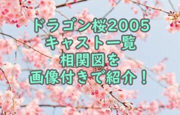 ドラゴン桜2005キャスト一覧相関図