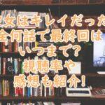 かのきれ日本版全何話いつまでで視聴率は?視聴者の感想を紹介